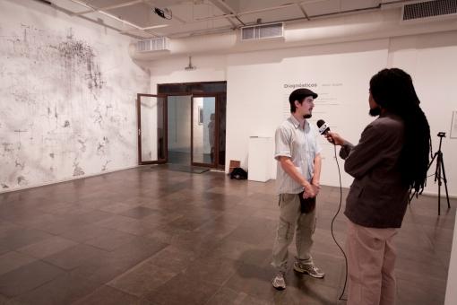 Exposição Diagnósticos de Kelvin Koubik realizada  em maio de 2012 na Sala Iberê Camargo na Usina do Gasômetro