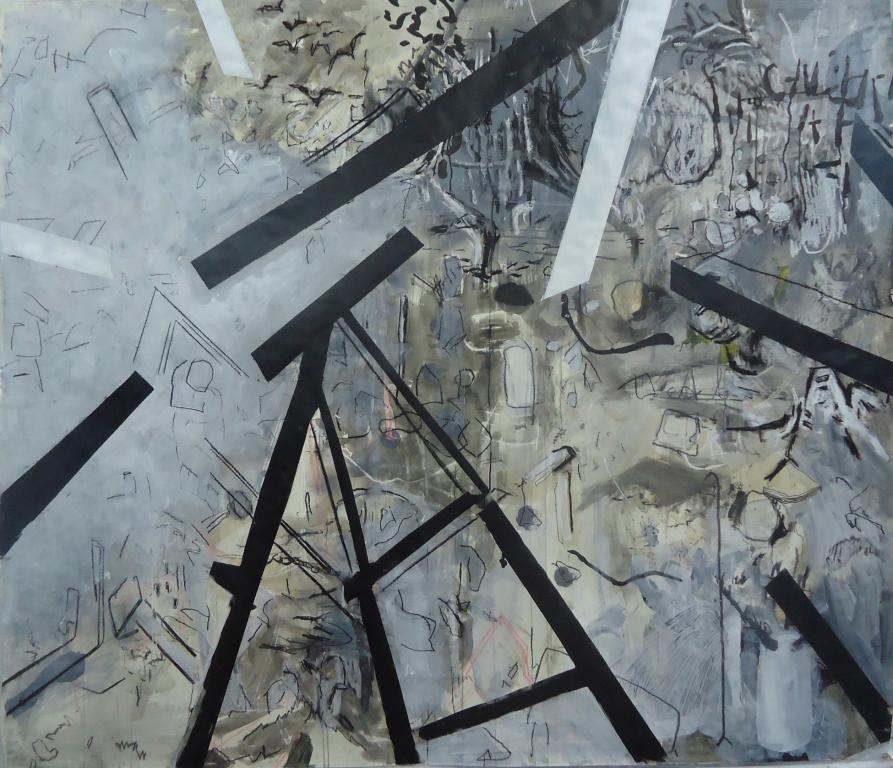desenho coletivo 2 150 x 150 cm atelier d43