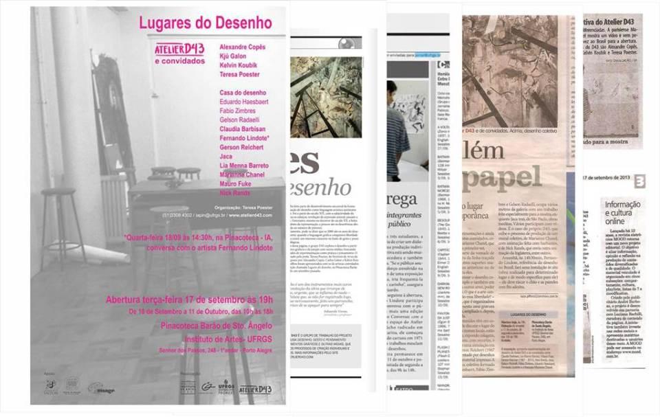 CLIPPING LUGARES DO DESENHO